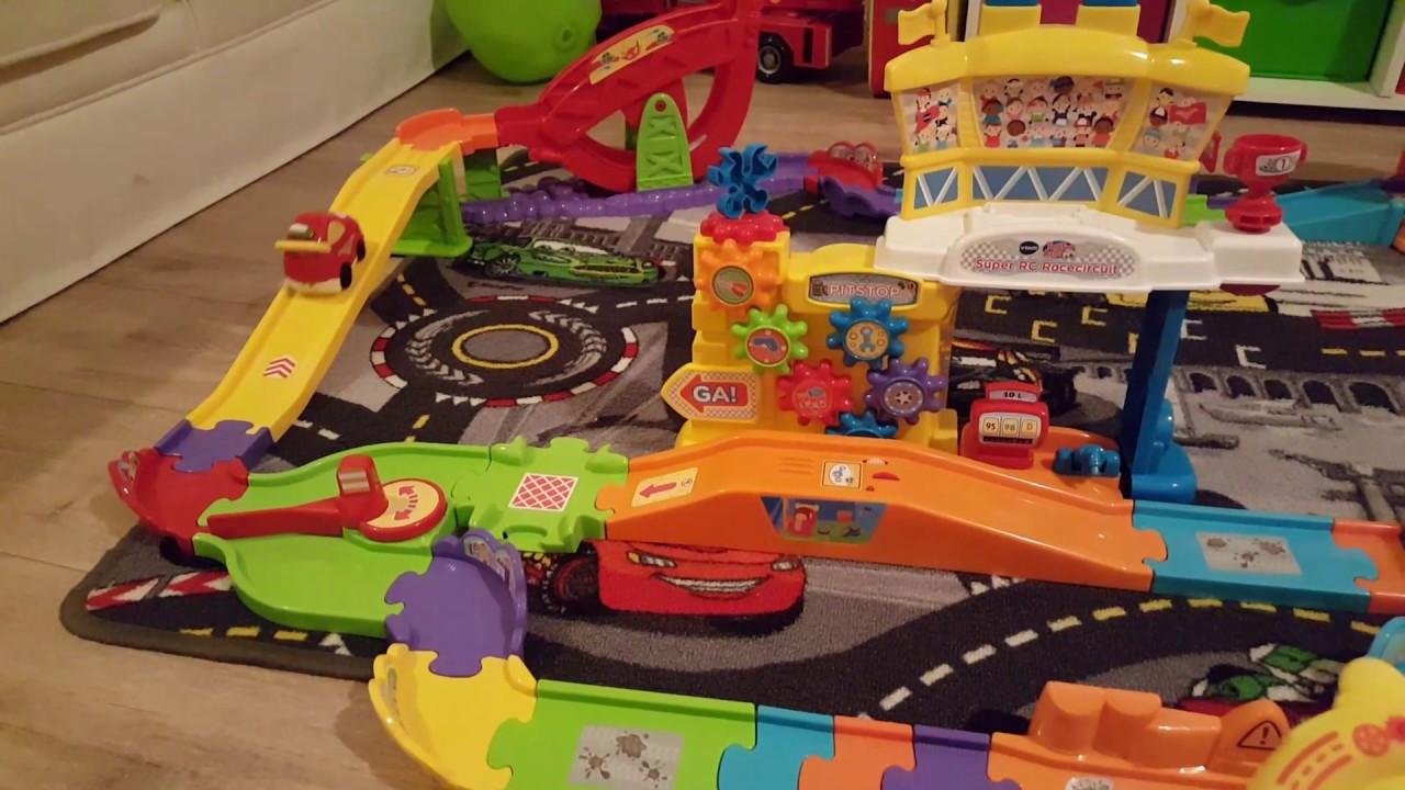 Toet Toet Garage : Review hoe werkt de toet toet autos super rc racecircuit van vtech