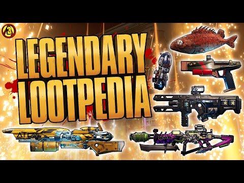 Borderlands 3 Legendary Items Lootpedia | Episode 10  BLOODY HARVEST, CARTELS & BROKEN HEARTS