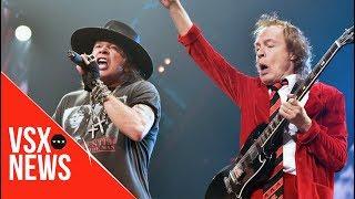Axl Rose hará álbum con AC/DC