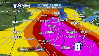 StormTrack 8 Morning Forecast July 13, 2015