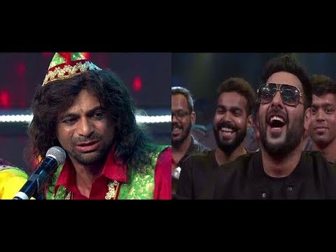 Sunil Grover Comedy With Badshah - DJ Wale Babu