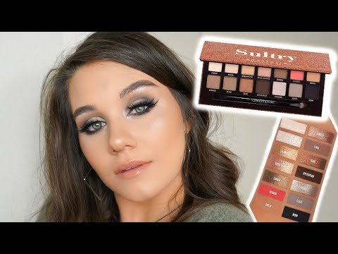 ABH SULTRY PALETTE | TUTORIAL, THOUGHTS & DUPES!