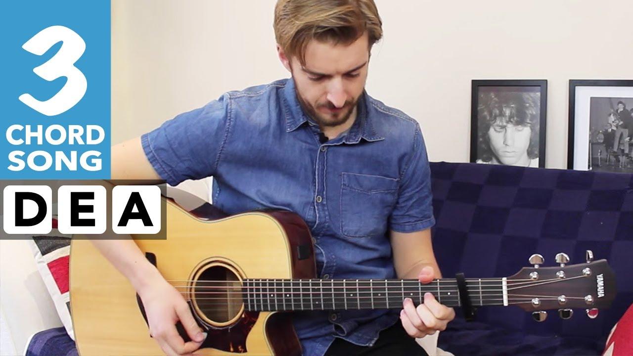 Zayn Pillowtalk Guitar Tutorial Lesson Easy 3 Chord Guitar Song