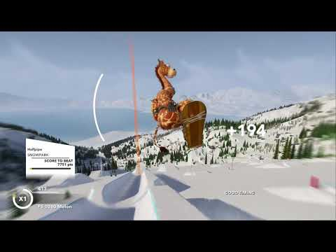 STEEP* but it's me just doing a halfpipe for 9 minutes straight |