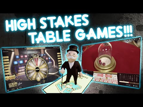 HIGH Stakes Table Games Session!!!!