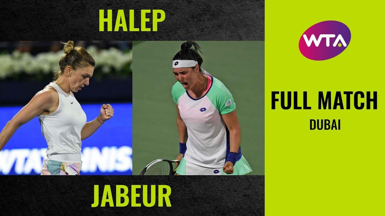 Simona Halep vs. Ons Jabeur | Full Match | 2020 Dubai Round of 16