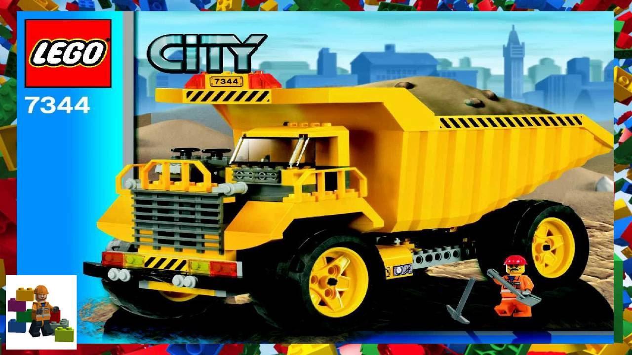 Lego Instructions City Construction 7344 Dump Truck Youtube