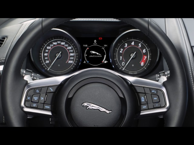 Jaguar F Type 2018 Incontrol Touch Pro Steering Wheel Controls Usa