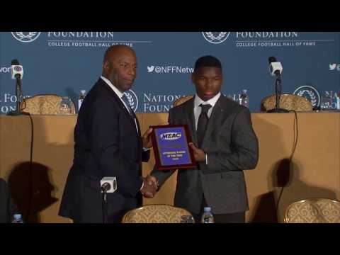 The MEAC Goes to NYC for the National Football Foundation