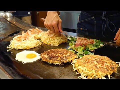 JAPAN STREET FOOD - Amazing OSAKA street food tour | Food and Travel Channel | Osaka, Japan