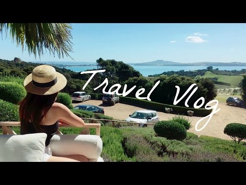 New Zealand Travel Vlog | Waiheke Island ワイヘキ島 ニュージーランド観光 internationallyME