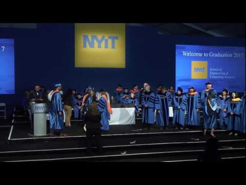 NYIT School of Engineering and Computing Sciences: 2017 Commencement