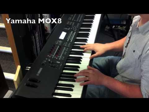 Yamaha MOX8 vs Korg Krome 88