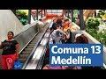 Commute by escalator?