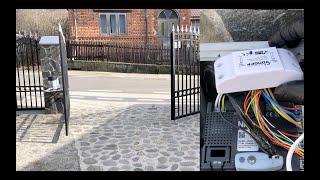 Deschidere porti automatizate din telefon