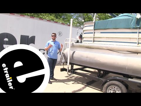 Etrailer | CE Smith Boat Trailer Post-Style Guide-Ons Review And Installation