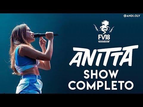 Anitta - Festival De Verão Salvador - Show Completo + Entrevista