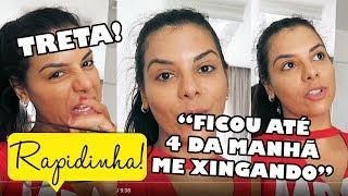 "💥EVELYN REGLY DETONA FOFOQUEIRA DA WEBTVBRASILEIRA: ""BAIXA E SEM CARÁTER"""