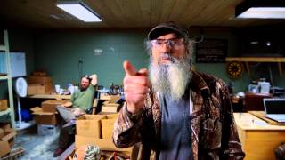 Si Robertson of Duck Dynasty has some advice for the Lipscomb Bisons
