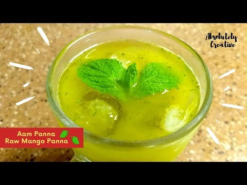 How to make Aam Panna | Raw Mango Panna with Pudina | Refreshing Homemade Summer Drink