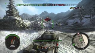 World of Tanks Xbox 360, IS-8 gameplay