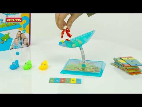 Развивающие игры «Удачный ход» и «Голодный крокодил» от Bondibon