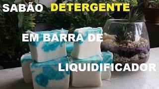 SABÃO DETERGENTE DE LIQUIDIFICADOR SEM SODA