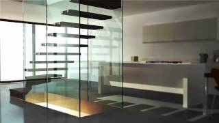 siller stairs products video, specialist for custom stairs, design stairs, glass stairs, helical stairs, cantilevered staris, stair fabrication, custom stairs, structural glass stairs