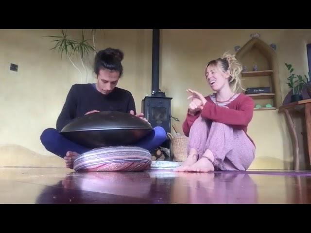Handpan with singing | Customers Video | NovaPans Customers