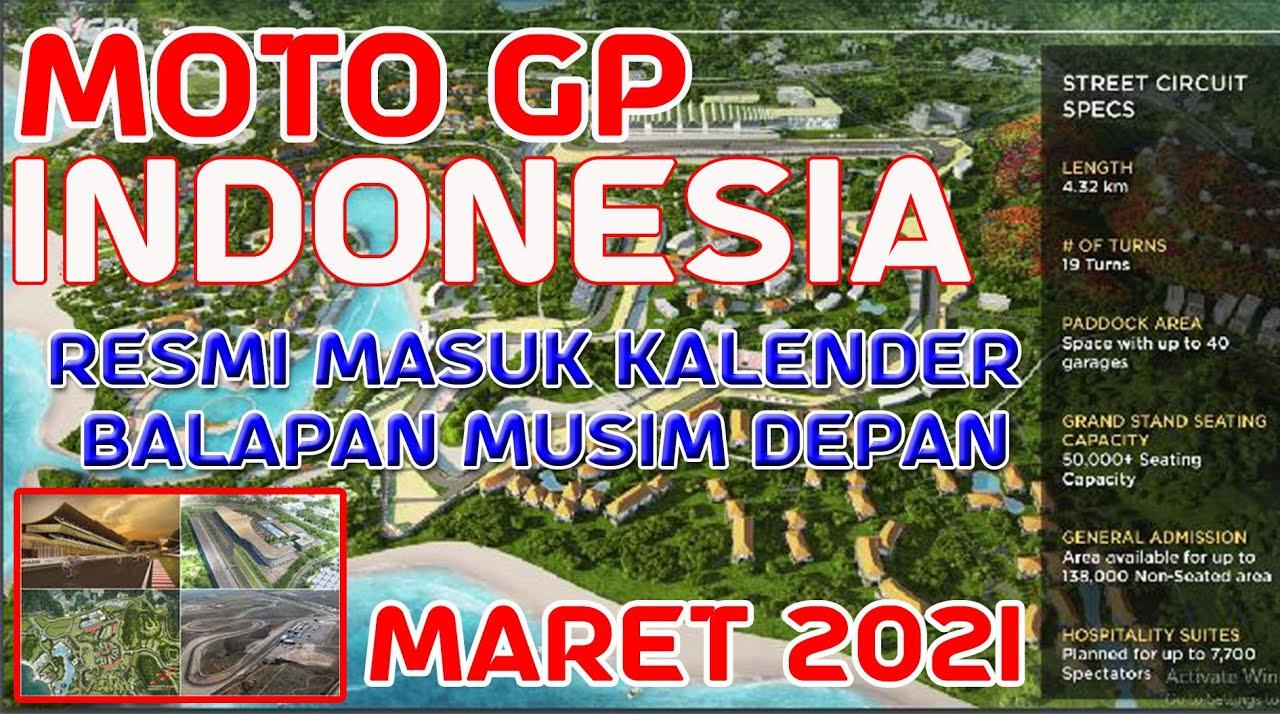 Moto GP INDONESIA Resmi Masuk Kalender Balapan Musim Depan ...