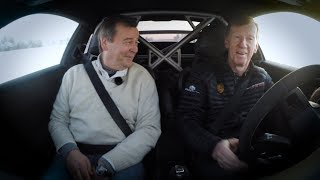 Markku Alén & Walter Röhrl ja uusi Porsche GT3 RS  (Teknavi 2018)