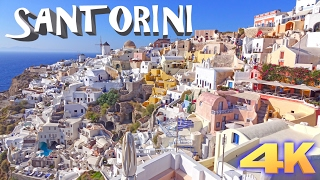 SANTORINI - GREECE 4K(Santorini - Small Greecee island. One of the most beautiful Islands, unique and most popular holiday destination in The World. In Video You can see: Oia,Thira, ..., 2015-08-27T07:22:57.000Z)