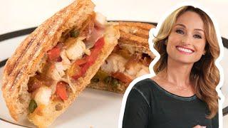 Giada De Laurentiis Makes a Chicken and Peperonata Panini | Food Network