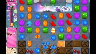Candy Crush Saga Level 1410 (No booster, 3 Stars)