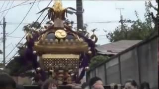 和泉熊野神社例大祭(平成28年)和泉仲通り睦会大神輿渡御1