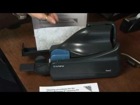 how to clean scanner screen
