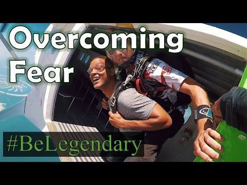 Will Smith - Skydiving | Overcoming Fear | Facing Your Fears | Be Legendary | My Inspiration