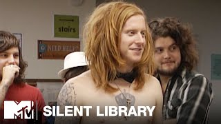 We the Kings Take on the Silent Library | MTV Vault