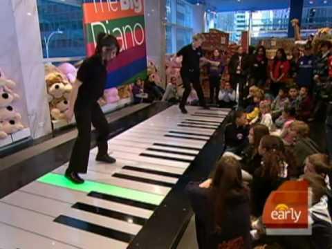 Jamming On FAO Schwarz Piano