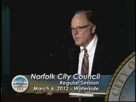 Waterside - Harvey Lindsay Development proposal to Norfolk City Council - March 06, 2012