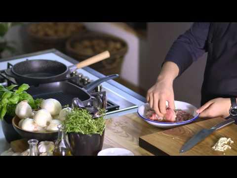 Ceafa de porc cu spanac si bacon • Bucataria Lidl cu Chef Florin
