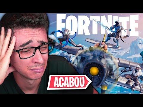*TEMPORADA 8* FIM DOS AVIÕES E TORRES TORTAS NO FORTNITE?! thumbnail