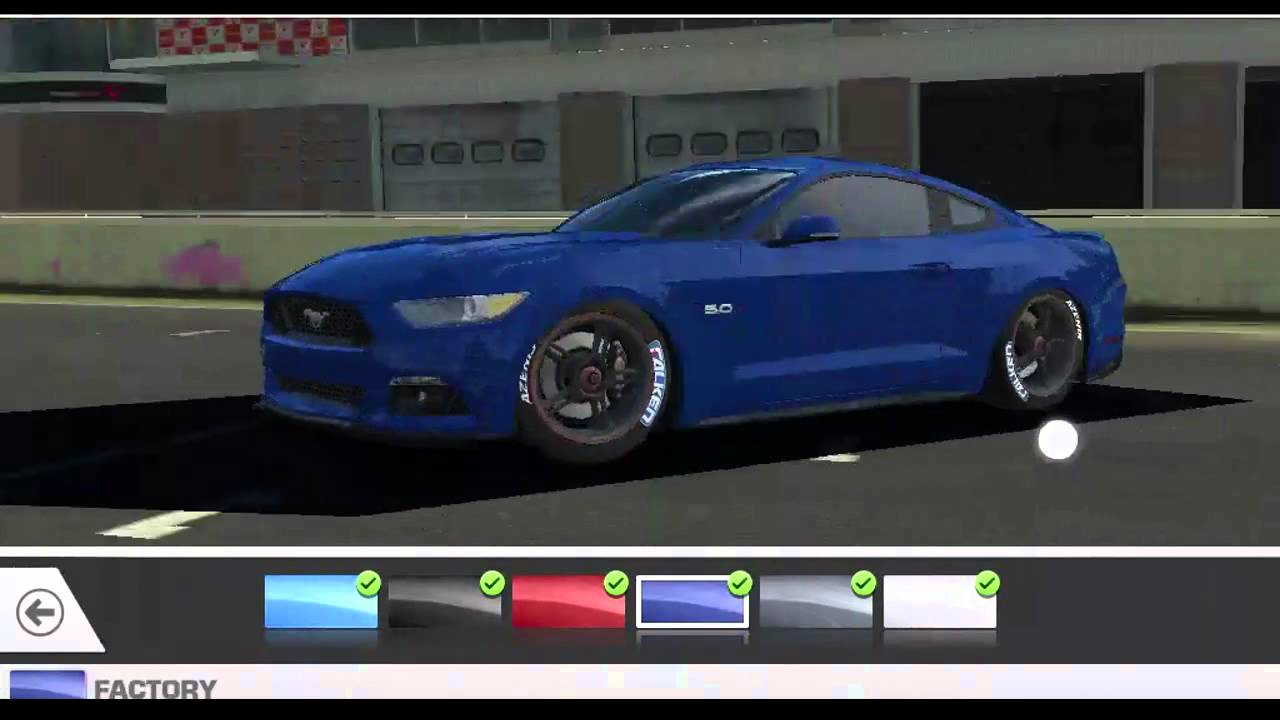 Real racing 3 2015 ford mustang gt