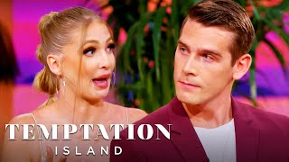 Did Corey and Amanda Hook Up on the Final Date? [REUNION] | Temptation Island | USA Network