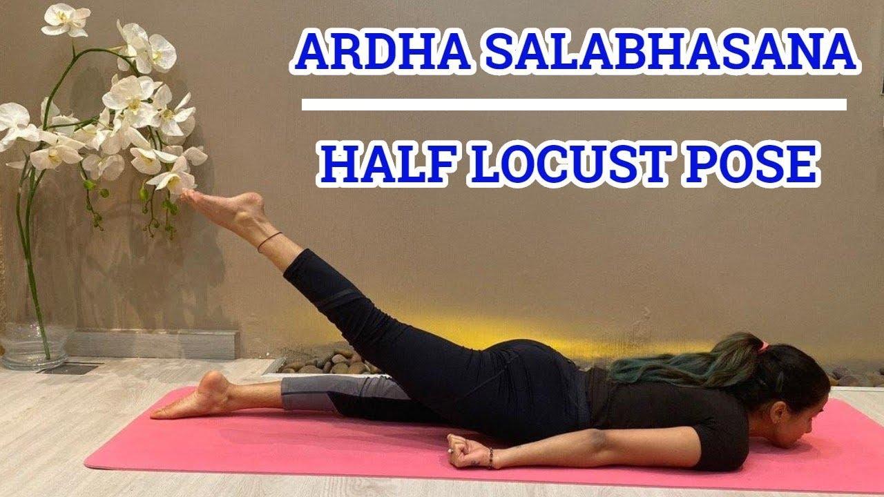 Half Salabhasana