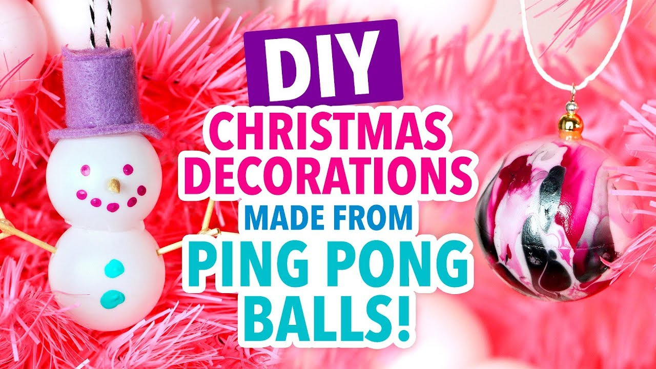 Diys Made From Ping Pong