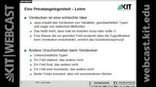09: Softwaretechnik 1, Vorlesung, SS 2016
