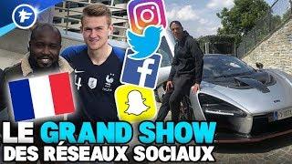 De Ligt pose avec le maillot des Bleus, le nouveau bolide de CR7 | Le Grand Show