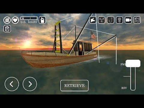 ICrabbing- The Commericial Fishing Simulator - Trailer Gameplay Game (Android, IOS) HQ