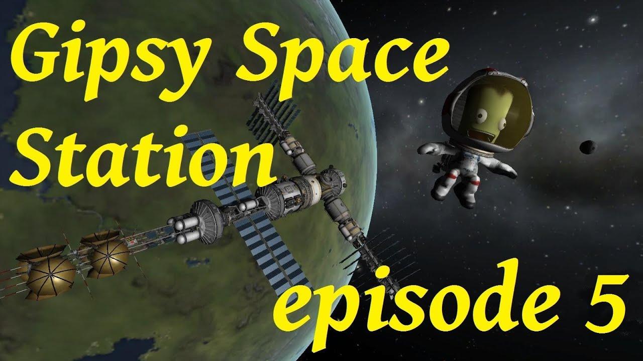KSP : GipsyDanger Space Station RCS fuel module